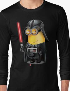 Minion Darth Vader Long Sleeve T-Shirt