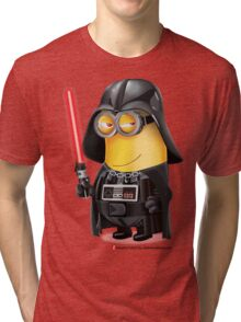 Minion Darth Vader Tri-blend T-Shirt