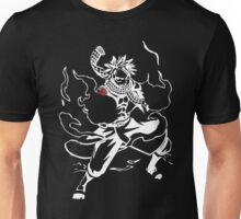 white flame dragon Unisex T-Shirt