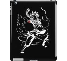 white flame dragon iPad Case/Skin