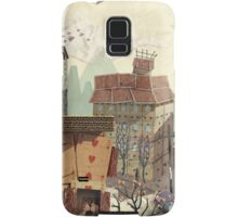 Paper city Samsung Galaxy Case/Skin