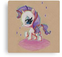 Rarity My Little Pony Canvas Print