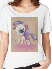 Rarity My Little Pony Women's Relaxed Fit T-Shirt