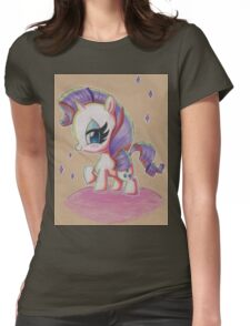 Rarity My Little Pony Womens Fitted T-Shirt