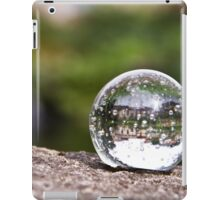 Town in a Crystal Ball iPad Case/Skin