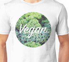 Vegan. - Kale Circle Unisex T-Shirt