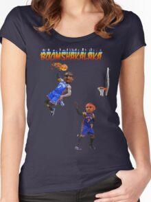 BOOMSHAKALAKA Women's Fitted Scoop T-Shirt