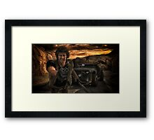 Thunder Road 1  Framed Print