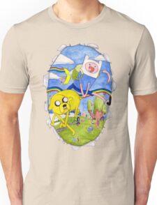 AdventureTime finn and jake Unisex T-Shirt