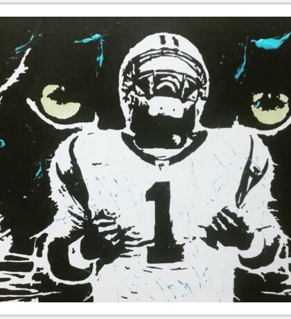 Cam Newton Sticker