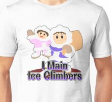 I Main Ice Climbers - Super Smash Bros Melee Unisex T-Shirt