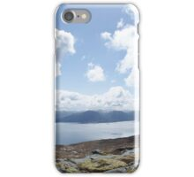 norwegian fjell and fjord iPhone Case/Skin