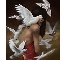 Doves Photographic Print