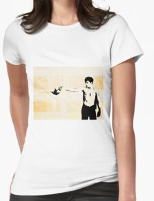 Tea-time with Travis Womens Fitted T-Shirt