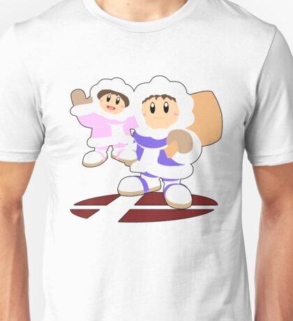 Ice Climbers- Super Smash Bros Melee Unisex T-Shirt