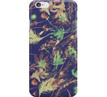 Retro Watercolor flowers iPhone Case/Skin