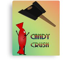 CandyCrush Canvas Print