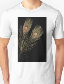 Abstract Peacock feathers T-Shirt