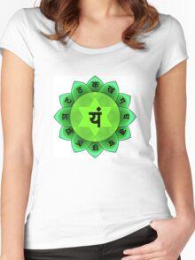 Beautiful Spiritual Mandala Women's Fitted Scoop T-Shirt