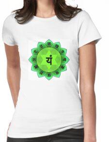 Beautiful Spiritual Mandala Womens Fitted T-Shirt