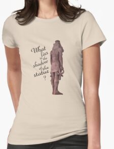 The Four Toed Statue Womens Fitted T-Shirt