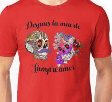 El día de los muertos enamorado Unisex T-Shirt
