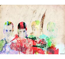 Watercolour Franz Ferdinand Photographic Print