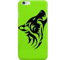 Howling like a wolf iPhone Case/Skin