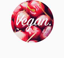 Vegan. - Cherry Circle Unisex T-Shirt