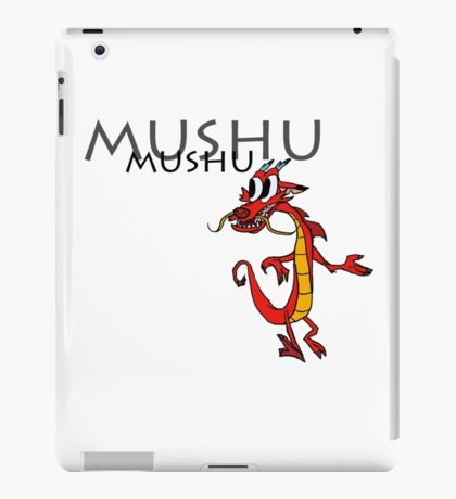 Mushu [with name] iPad Case/Skin