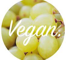Vegan. - Grape Circle by cclecombe