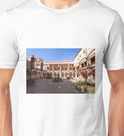 Cloister. Convent of Christ. Tomar Unisex T-Shirt