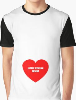 Little Person Inside Graphic T-Shirt