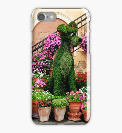 Canines in Love, EPCOT's Flower and Garden Festival iPhone Case/Skin