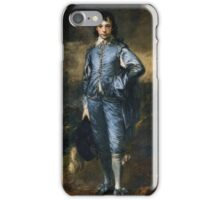 THE BLUE BOY  Gainsborough iPhone Case/Skin