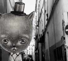 Mr. Cat Sticker