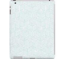 Blue Box Pattern iPad Case/Skin