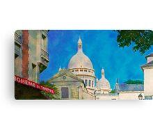 France - Paris, Montmartre Canvas Print