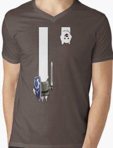 Undertale Lesser dog Mens V-Neck T-Shirt