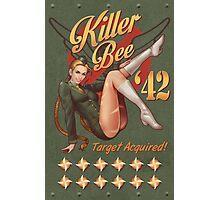 Killer Bee Pin Up Photographic Print