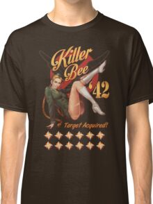 Killer Bee Pin Up Classic T-Shirt