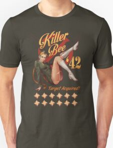 Killer Bee Pin Up Unisex T-Shirt