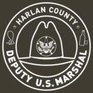 Harlan County Marshal Badge by godgeeki