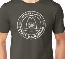 Harlan County Marshal Badge Unisex T-Shirt