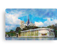 France - Paris, Notre dame Canvas Print