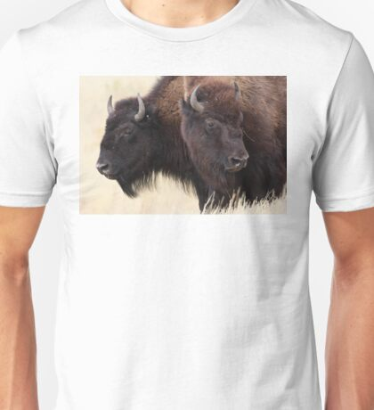 Bison Friendship Unisex T-Shirt