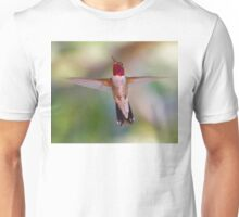 Broad-tailed Hummingbird in Flight Unisex T-Shirt