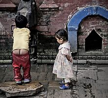 At the Fountain by Valerie Rosen