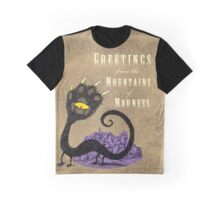 Haunted Greetings from the Mountains of Madness Graphic T-Shirt