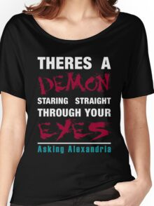 Asking Alexandria The Black Women's Relaxed Fit T-Shirt